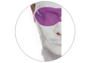 Соевая бифазная маска для лица и области глаз С40